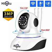Беспроводная IP камера Hiseeu 1536P 1080P
