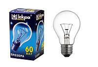 Лампа накаливания  60Вт; 75Вт; 100Вт. Е27 индивидуальная упаковка