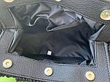 Белая сумка пельмень! Женская модная сумочка K39-20/2 на магнитах с длинной ручкой на плечо, фото 4