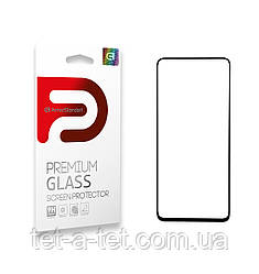 Захисне скло Armorstandart Full Glue для TECNO Spark 5 Pro (KD7) Black (premium glass)