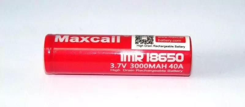 Аккумулятор 18650 3000мАч 3,7В Li-Ion Maxcail