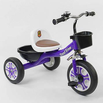 Трехколесный велосипед ребенку фиолетовый Детский велосипед 3-х колесный Трехколесный детский велосипед