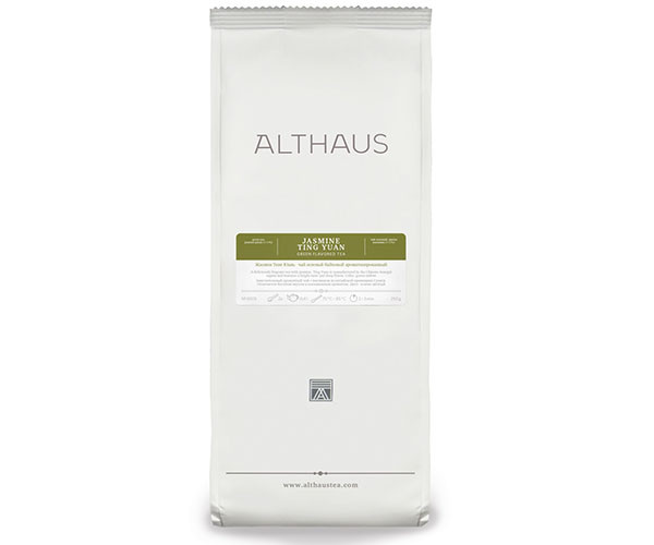 Чай Althaus (Альтхаус) Jasmine Ting Yua 250 г (Tea Althaus Jasmine Ting Yua 250 g)