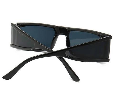 Прямокутні окуляри від сонця (арт. 2415/9) чорні, фото 3