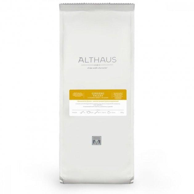Чай Althaus (Альтхаус) Ginseng Valley 200 г (Tea Althaus Ginseng Valley 200 g)