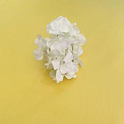 Головка гортензии белая 7 см
