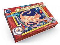 Набор для творчества  Ниткография: Сказочный кот