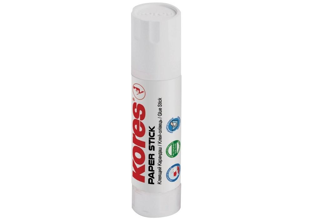 Клей-олівець Paper Stick Kores, PVP основа, 20 г K17203