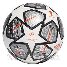 Football adidas Finale 21 20th Anniversary UCL League white-silver-orange-black GK3468