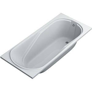 Ванна акриловая SWAN Monica 180х80 (D.02.180.80) с ножками