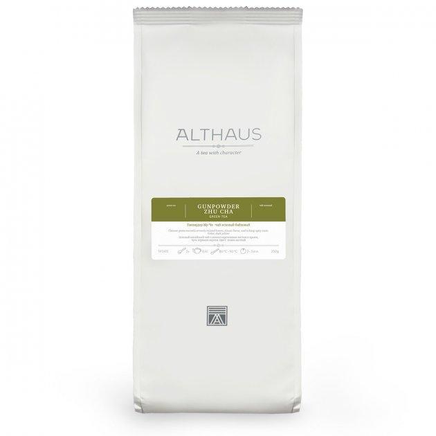 Чай Althaus (Альтхаус) Gunpowder Zhu Cha 250 г (Tea Althaus Gunpowder Zhu Cha 250 g)