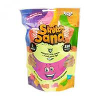Кінетичний пісок Stretch Sand укр 350 г рожевий