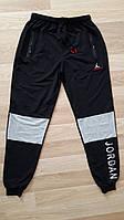 """Спортивні штани чоловічі JORDAN з сірими колінами,р-ри 46-54""""KING"""" недорого від прямого постачальника"""