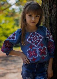 Нарядная вышиванка для девочки детская подростковая Вышиванка подросток школа