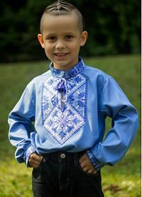 Ошатна підліткова вишиванка для хлопчика
