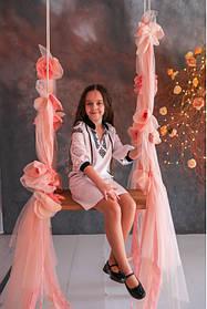 Вышванка туника для девочки Тунка-вышиванка детская