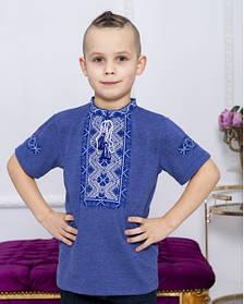 Кольорова футболка вишиванка для хлопчика