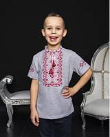 Этническая одежда детская Футболка вышиванка для мальчика