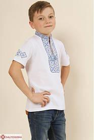 Футболка вишиванка для хлопчика вишиванка з коротким рукавом