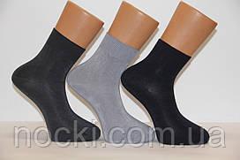 Чоловічі шкарпетки середні стрейчеві з бамбука НЕЖО Ф14 40-44 асорті
