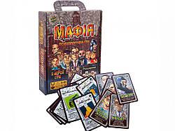 Настольная развлекательная ролевая игра Мафия две версии (укр), Strateg (00314)