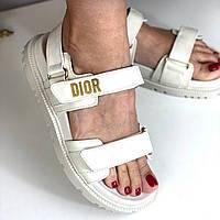 Стильні сандалі Dior (репліка), фото 1