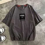 Женская футболка летняя оверсайз с рисунком накаткой (р. 42-46) 6817524, фото 2