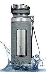 Бутылка для воды KingCamp SILICON TRITAN BOTTLE(KA1144) (MEDIUM GRAY)