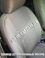 """Модельные чехлы на Renault Logan 2006-2013 (sedan) / авто чехлы на Рено Логан седан """"Nika"""""""