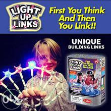 Конструктор детский светящийся Light Up Links