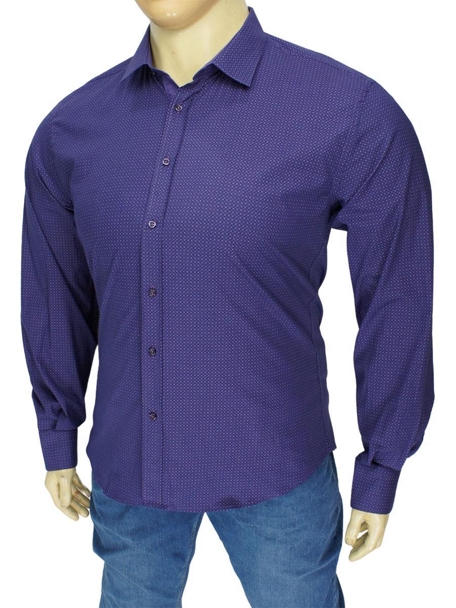 Чоловіча бавовняна сорочка великого розміру Negredo 9060 BD 16