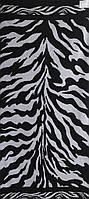 Полотенце махровое 67*150 ЗЕБРА черно-белая