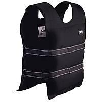 Жилет утяжелитель PERTO Black 12 кг