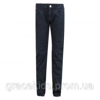 Черные подростковые брюки на мальчиков glo-story