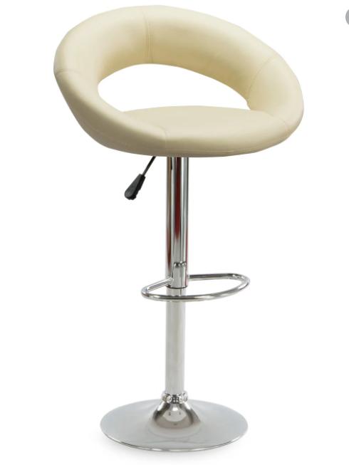 """Барный стул HOKER  BONRO В650 с Подставкой для ног(120 кг нагрузка)""""""""Бежевый"""