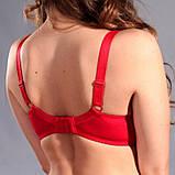 Бюстгальтер 33399 Diorella  красный 80Е, фото 5