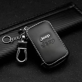 Ключница автомобильная для ключей с логотипом Jeep