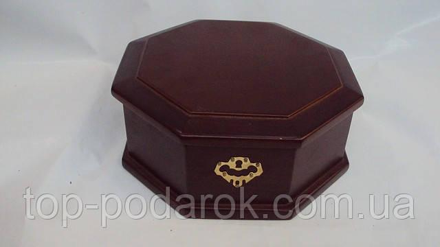 Шкатулка для украшений деревянная , фото 1