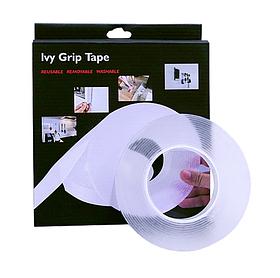 Багаторазова кріпильна стрічка Ivy Grip Tape (довжина 3 м, ширина 30 мм, товщина 2 мм)