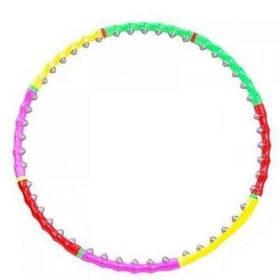 Масажний обруч Хула Хуп hula hoop 8 секцій 0251