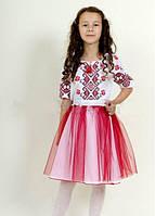 Пышная фатиновая юбочка детская для девочки