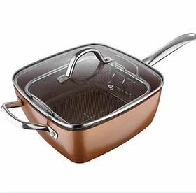 Сковорода фритюрница пароварка 8 в 1 UNIQUE UN 5251, 24 см