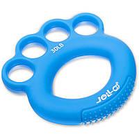 Эспандер кистевой силиконовый Zelart Jello My Fit 1782 нагрузка 30LB Blue