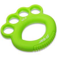 Эспандер кистевой силиконовый Zelart Jello My Fit 1782 нагрузка 40LB Green