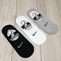 "Носки - СЛЕДЫ  с защитой от сползания, СЕТКА, 41-45 р-р, ""Nike "". Укороченные носки, следочки, подследники"