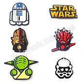 Джибитсы Звездные войны набор 6 шт., всем фанатам Star Wars, набор №1