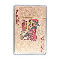 Пластиковые игральные карты Медное Солнце