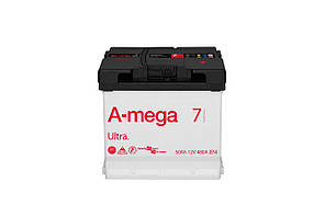 Авто аккумулятор A-Mega Ultra 50 ампер