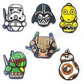 Джибитсы Звездные войны набор 6 шт., всем фанатам Star Wars, набор №2