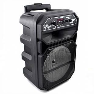Колонка беспроводная портативная чемодан JBK-0809